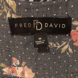 Fred David Tops - Floral Shirt 💕
